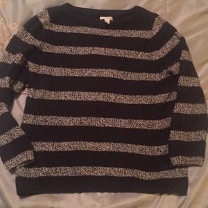 Croft & Barrow Striped Sweater Size Large